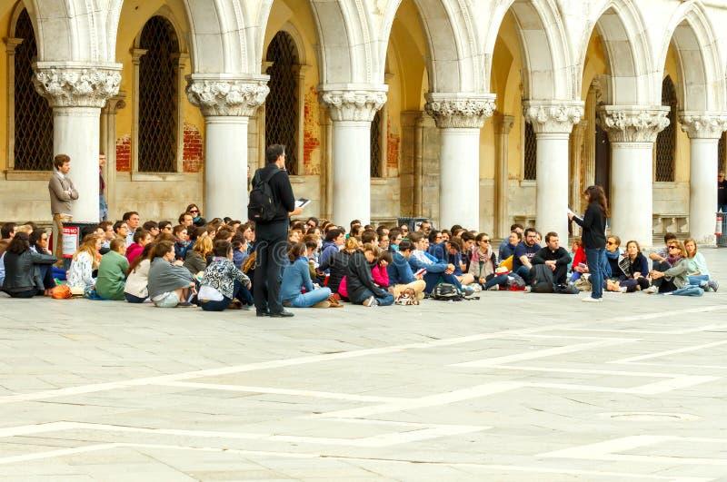 Venetië Jonge Christenen stock foto's