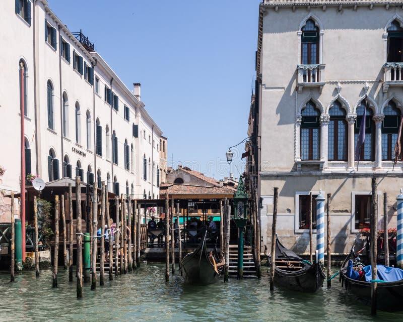 Venetië, Kanaal Grande royalty-vrije stock afbeeldingen