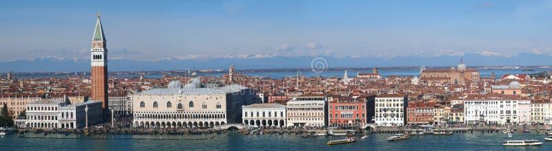 Venetië - Panorama royalty-vrije stock foto's