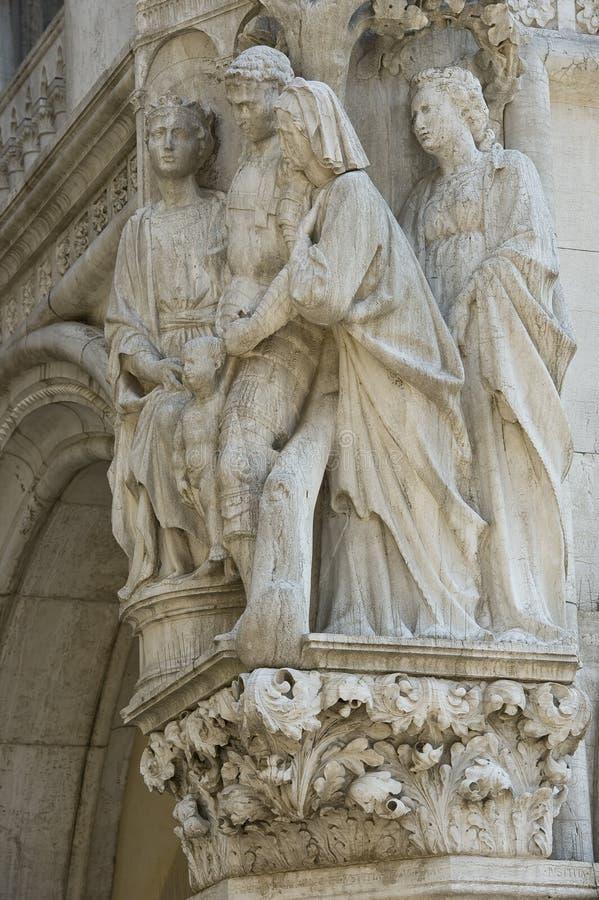 Venetië - Porta della Carta royalty-vrije stock afbeeldingen