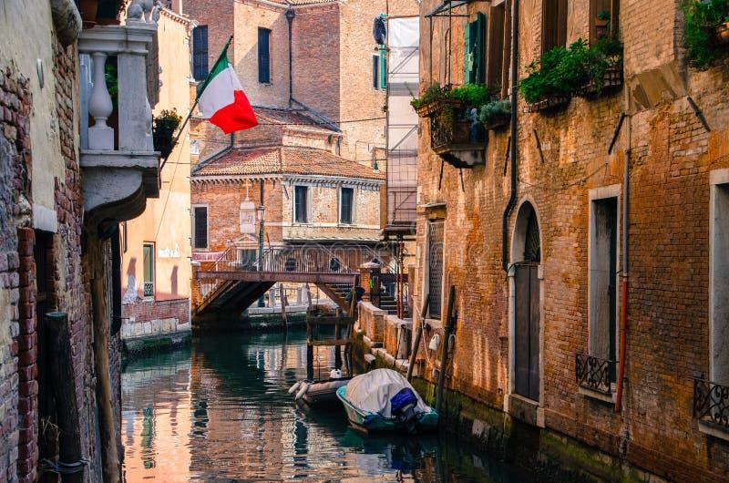 Venetië zoals is stock afbeelding