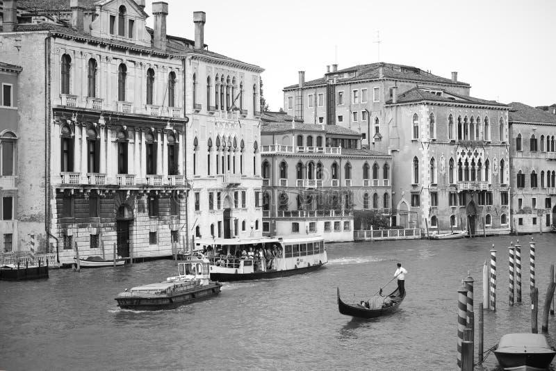 Venetië in zwart-wit royalty-vrije stock afbeelding