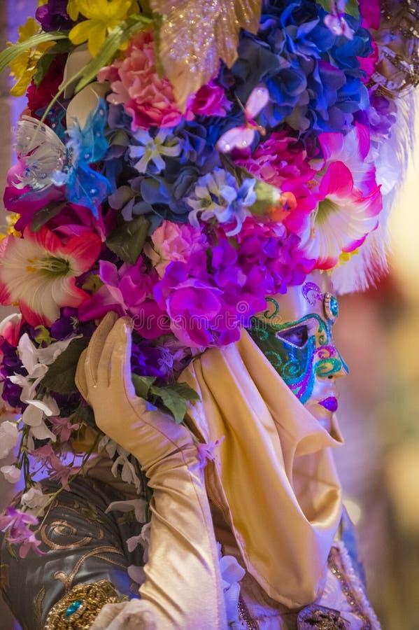Venetiaans masker stock afbeelding