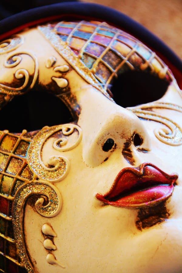 Venetiaans masker, Venetië, Italië stock fotografie