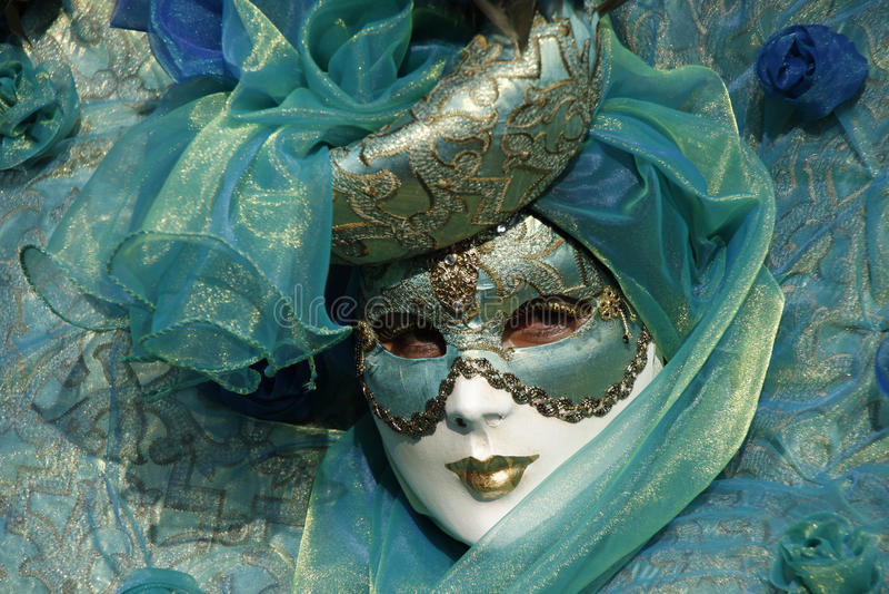 Venetiaanse Carnival02 royalty-vrije stock afbeelding