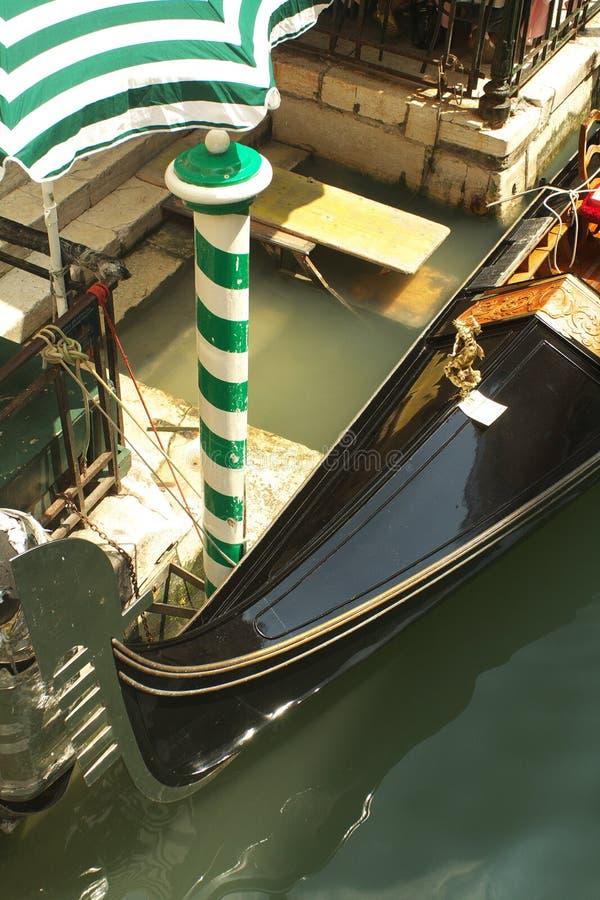 Venetiaanse gondel royalty-vrije stock foto's