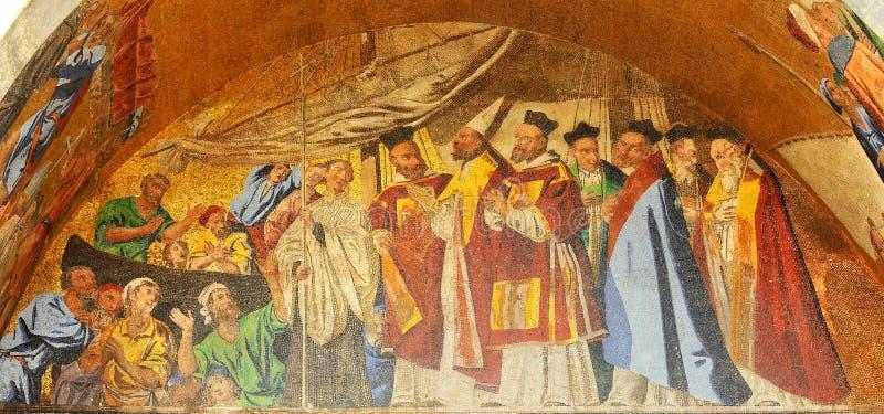 Venetiaanse Mozaïeken stock afbeeldingen