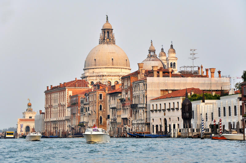 Venetian Architecture On The Grand Channel Editorial Photography