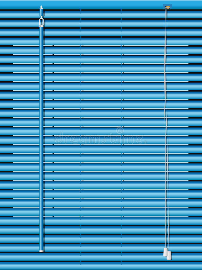 Download Venetian blinds stock illustration. Image of privacy - 18934364