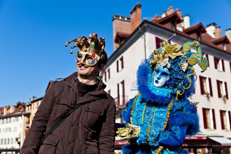 Venetian Carnival 2012 stock image