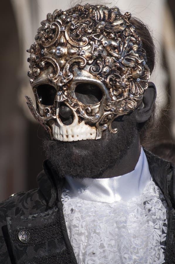 Venetian Carnival-2013 Editorial Stock Photo