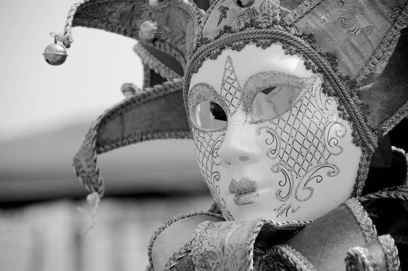 Venetian carnival mask. Beautifully crafted venetian carnival mask stock photo