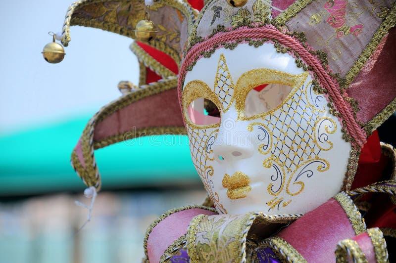 Venetian carnival mask. Beautifully crafted venetian carnival mask stock photography