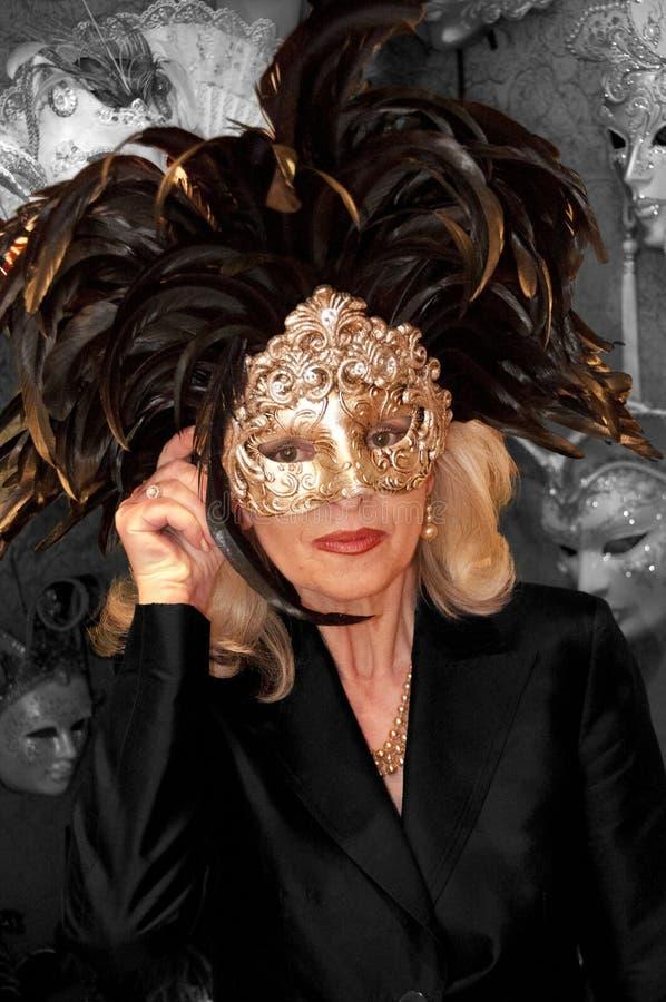 Venetian Carnival Mask - Maschera di Carnevale - Venice Italy - Creative Commons by gnuckx stock images