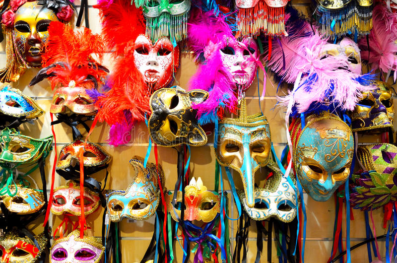 Download Venetian carnival masks stock image. Image of happiness - 31318841