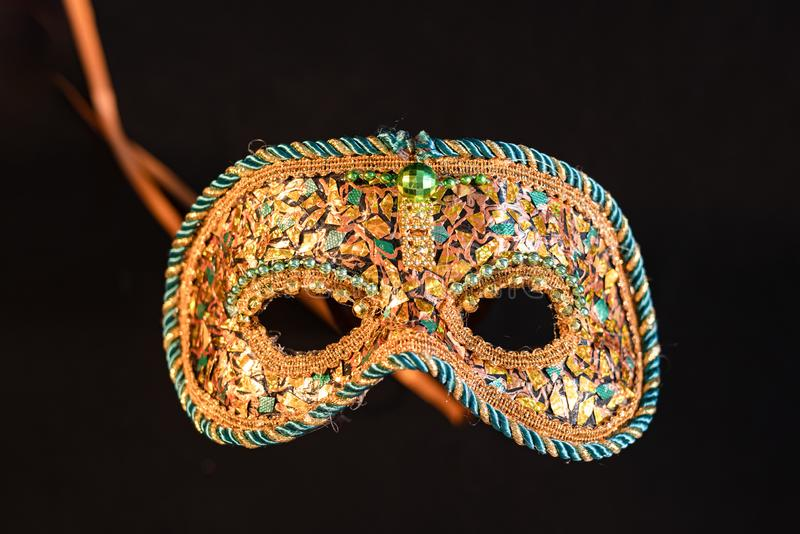 Venetian carnival masks, traditional hand-made. Venetian carnival masks, traditional hand made stock photos