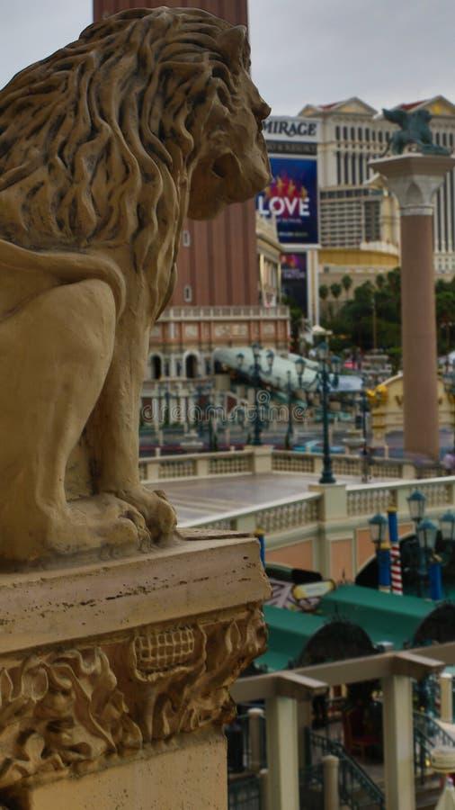 Venetian Casino. Italian-style architecture stock photography