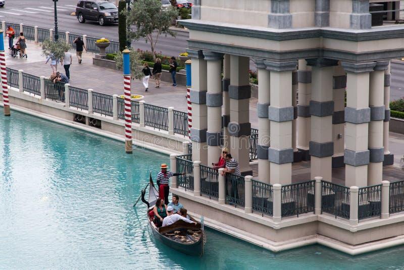 Venetian Casino. Las Vegas, Venetian Casino , by nightinside view royalty free stock photography