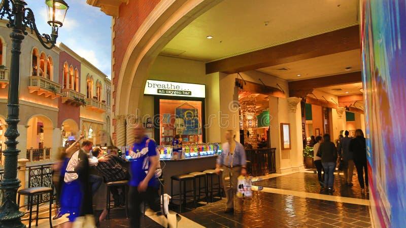 Venetian Casino. Las Vegas, Venetian Casino , overview, evening stock photography