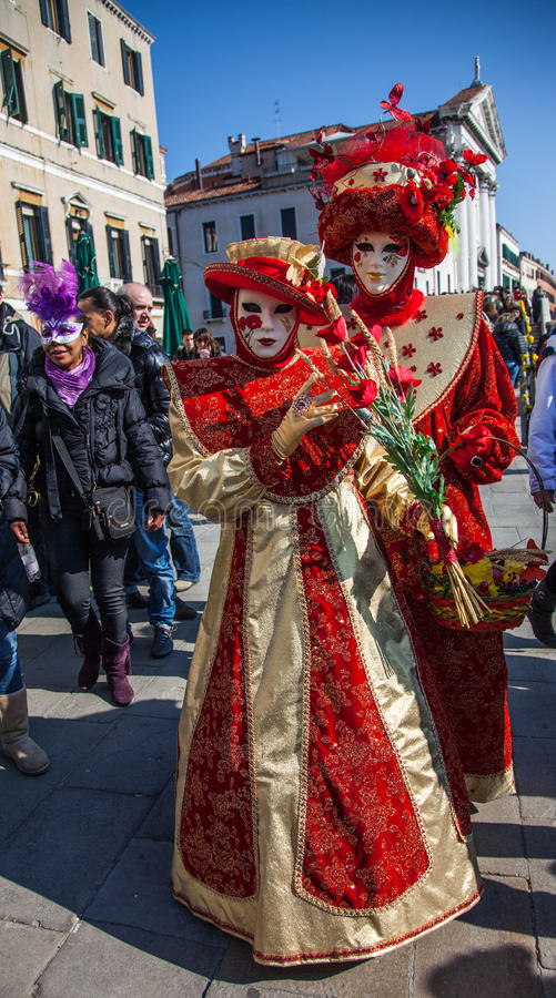Venetian Costumes royalty free stock images