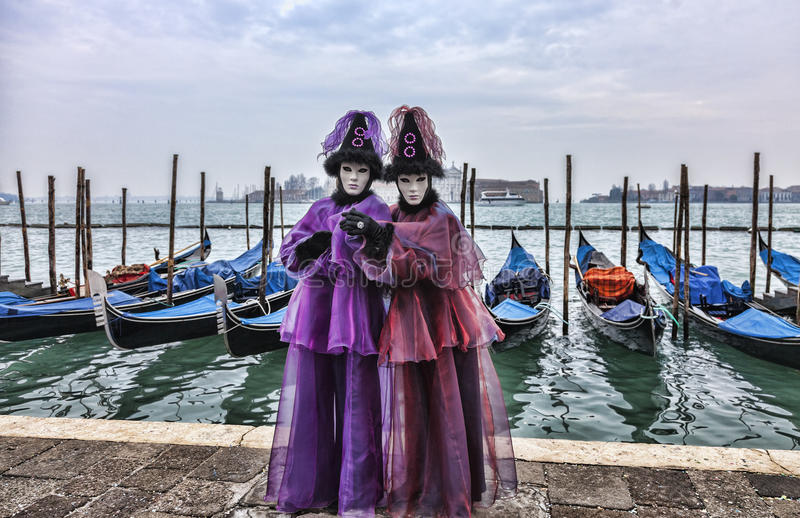 Download Venetian Couple editorial photography. Image of carnival - 29223282