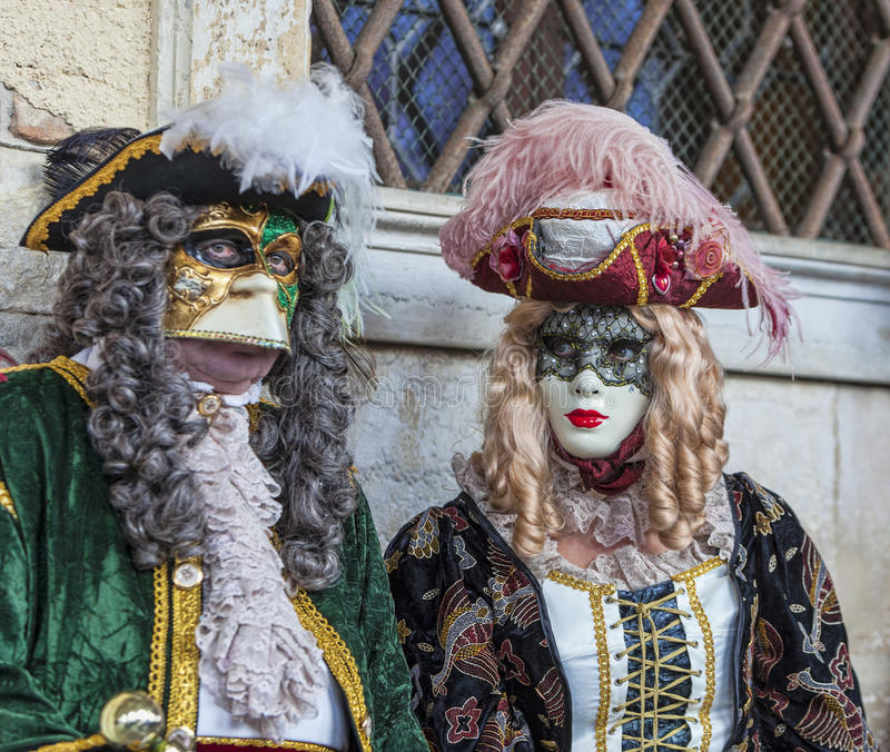 Download Venetian Couple editorial stock image. Image of european - 38181039