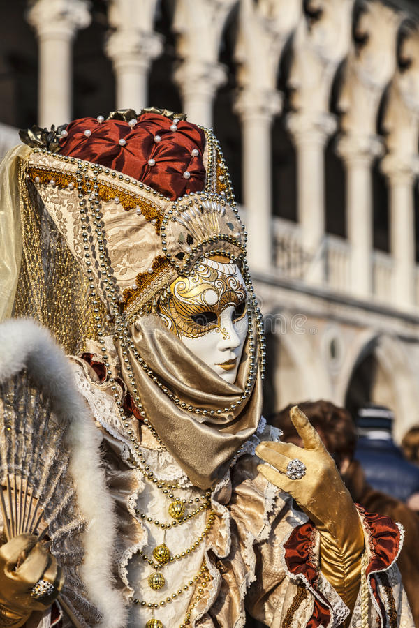 Venetian Disguise stock photo