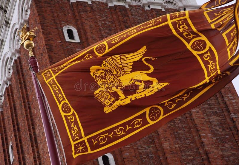 Venetian Flag stock images