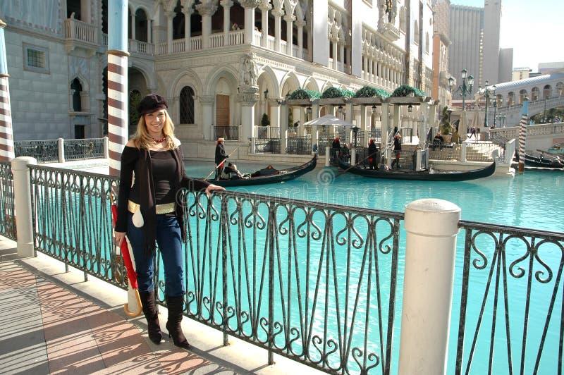 venetian kanal arkivfoton