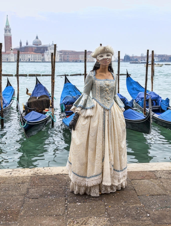 Download Venetian Lady editorial stock photo. Image of character - 29497358