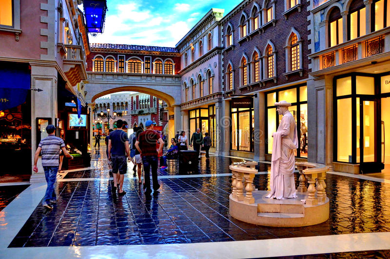 Venetian Las Vegas arkivbilder