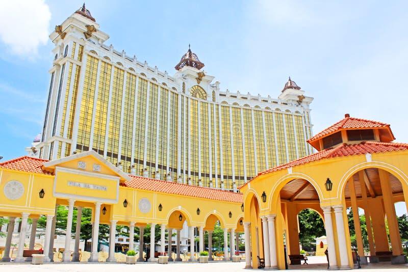 The Venetian Macao Casino Building, Macau, China stock image