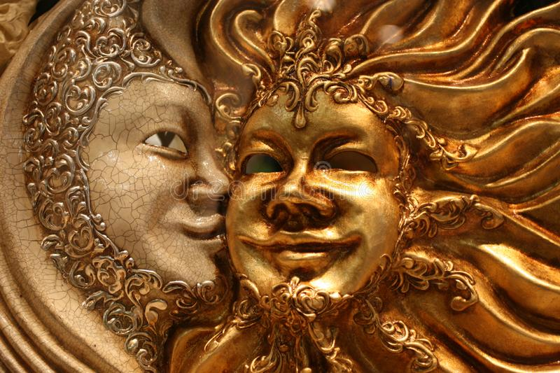 Download Venetian mask stock image. Image of feature, face, design - 15682161