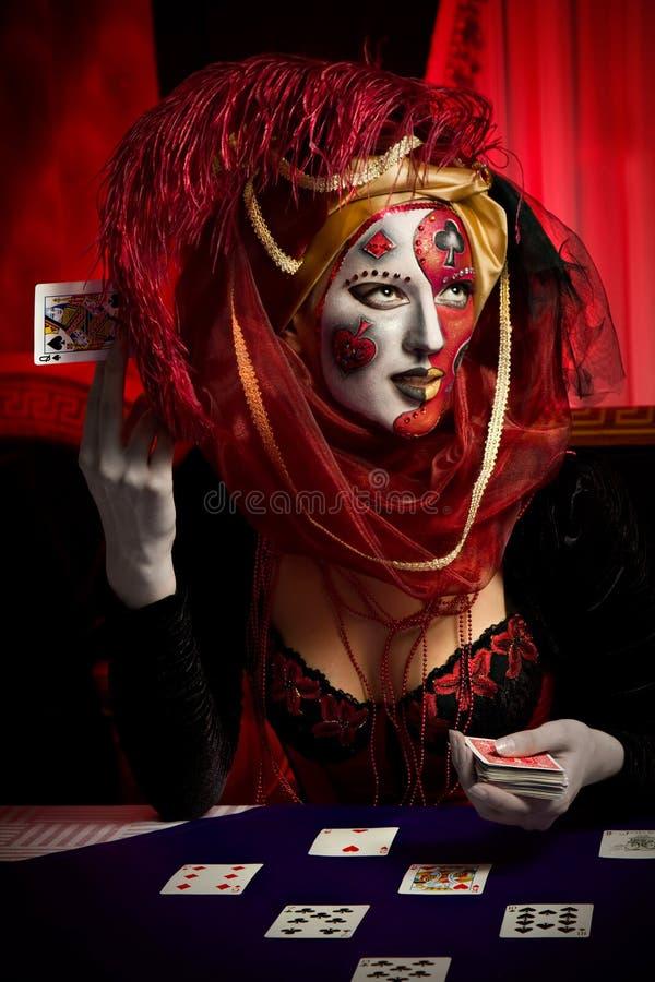 Download Venetian mask stock image. Image of beautiful, gamble - 16607817