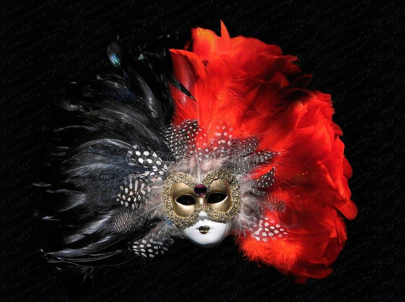 Venetian Mask. On black
