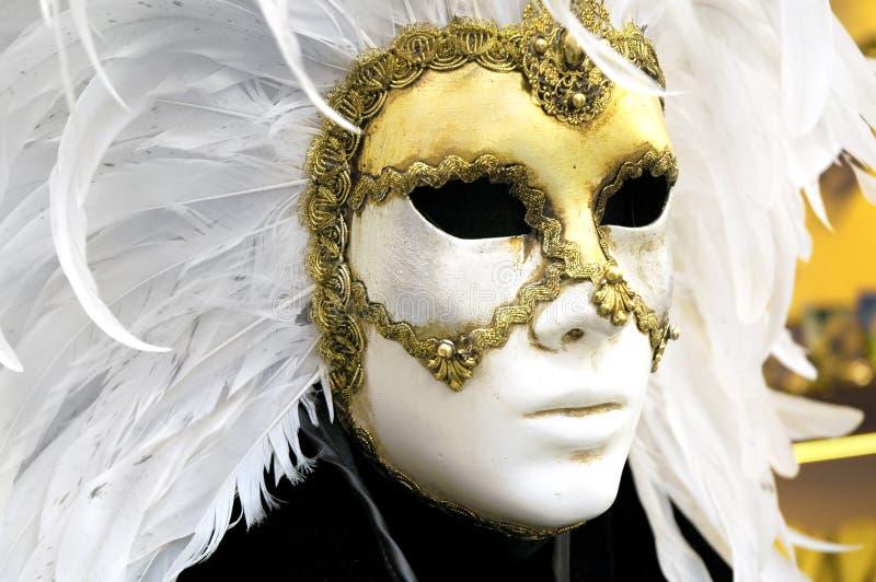 Venetian mask. Italian, venetian carnival mask royalty free stock image