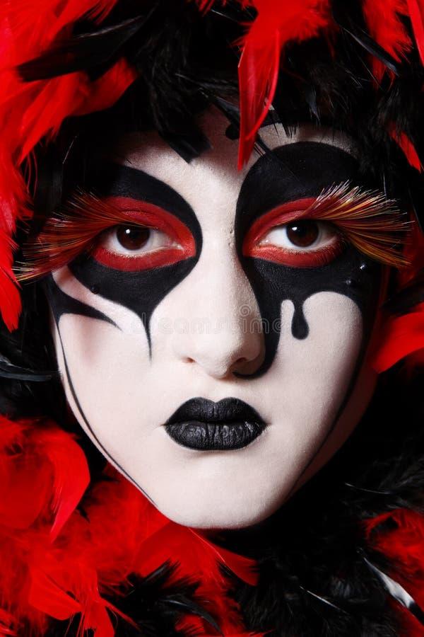 Download Venetian mask stock photo. Image of eyelashes, lashes - 8518028