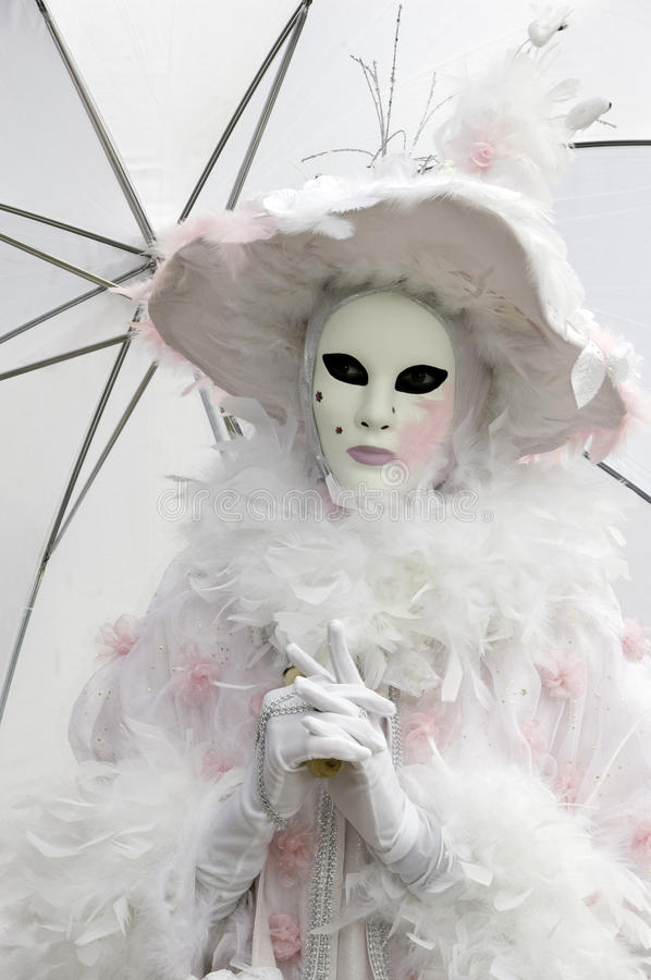 Download Venetian Mask At Annecy's Carnival Editorial Stock Image - Image: 19581774