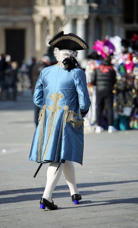 Venetian mask in saint mark square royalty free stock image