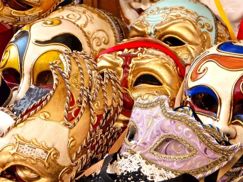 venetian maskerad arkivbild
