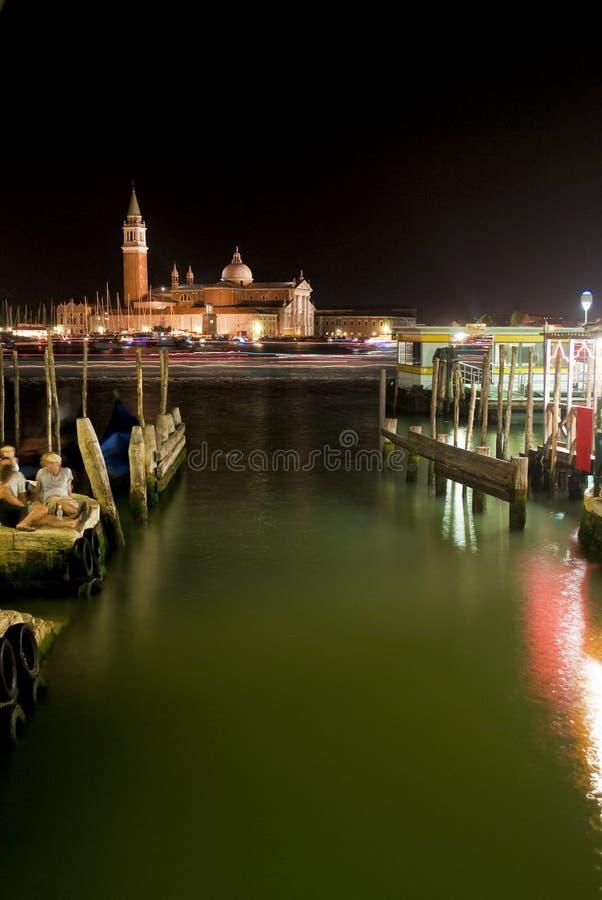 Download Venetian night stock image. Image of tourism, basilica - 15210509