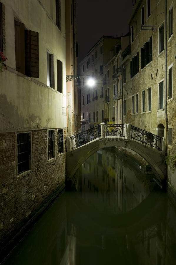 Venetian nights royalty free stock photos