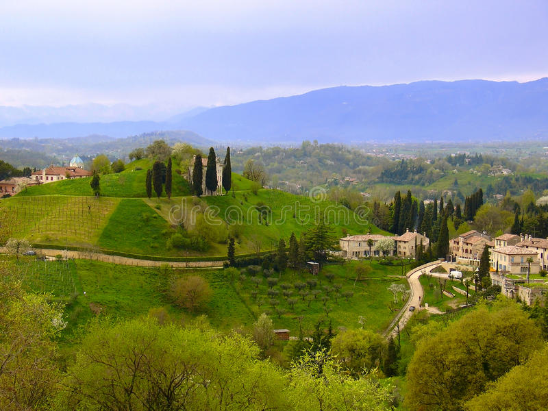 Venetian Rural Landscape royalty free stock photos