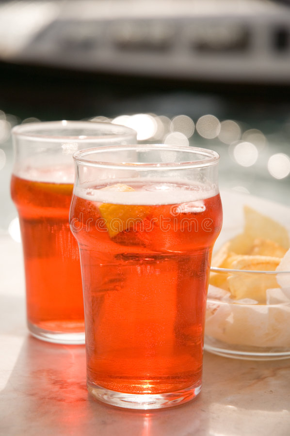 Download Venetian Spritz stock photo. Image of alcoholic, translucent - 2301250