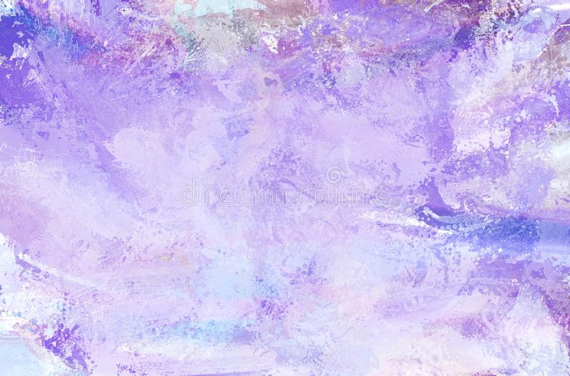 Venetian stucco background, frost decorative painted texture stock image