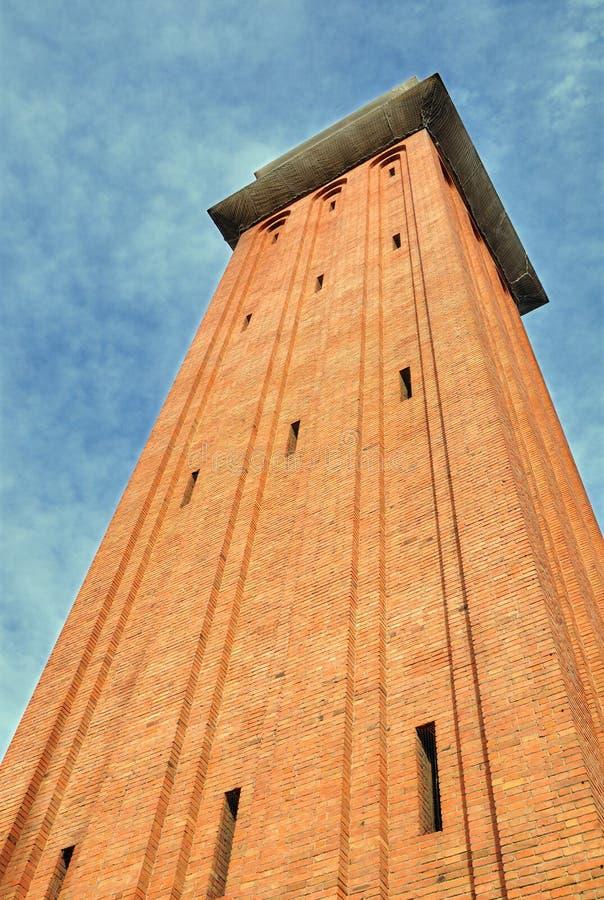 Venetian tower. Barcelona. royalty free stock image