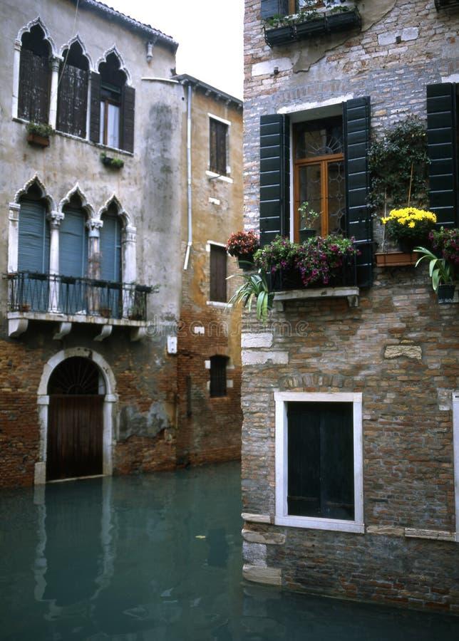 venetian tvärgator royaltyfria bilder