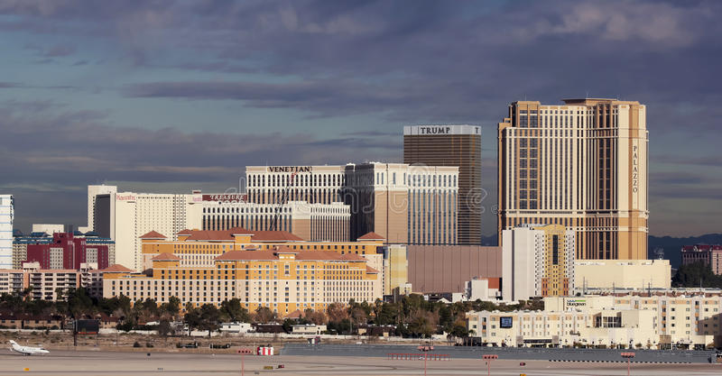 Download A Venetian View From McCarran International Airport Editorial Photo - Image: 28515616