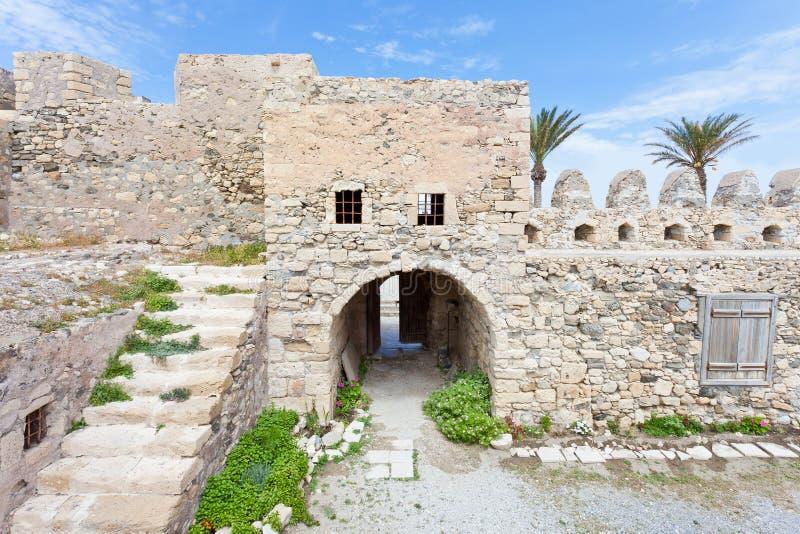 Venetianische Festung von Ierapetra stockbild