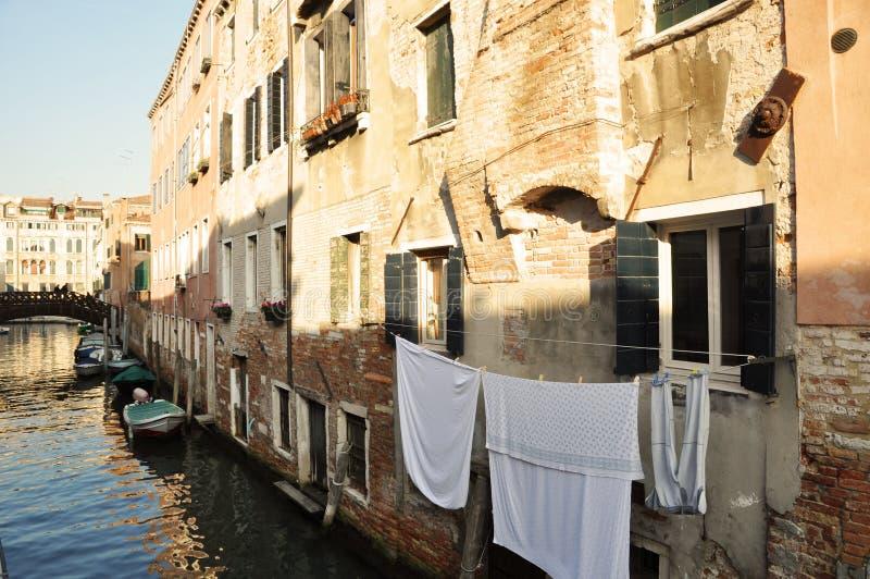 Venetianische Gewohnheiten stockfotografie